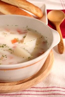 かぶのミルクスープ