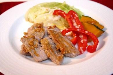 20120528豚肉の塩麹ソテー.JPG