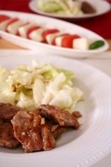 20130708豚肉のガーリックソース.jpg