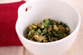大根菜の炒り卵