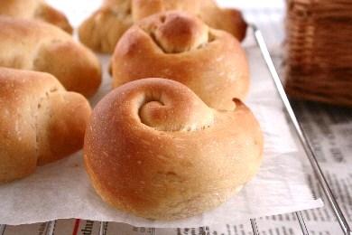 黒糖うずまきパン