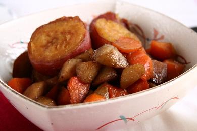 秋色の煮物