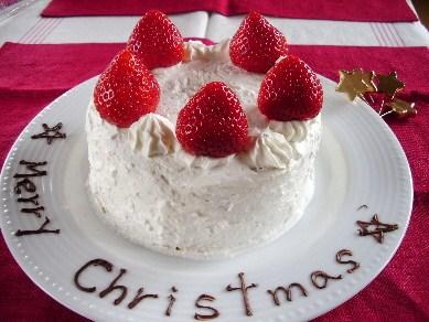 2010クリスマスケーキ1