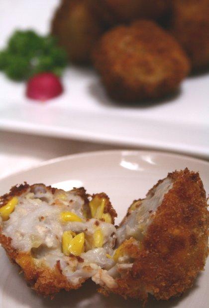 里芋とコーンのころつぶコロッケ2