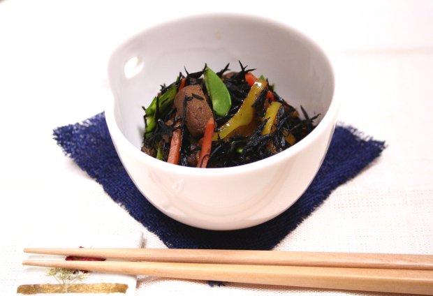 5色ひじき煮1