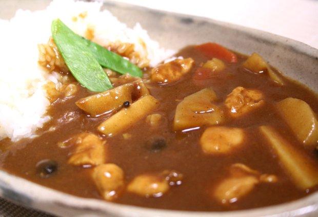 れんこんと里芋の和風カレー