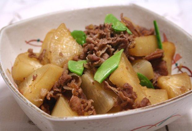 豚肉と大根のとろ〜り煮