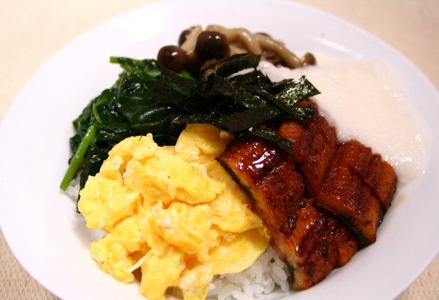 よくばりスタミナ鰻丼1