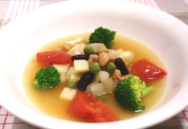 3色ビーンズスープ1