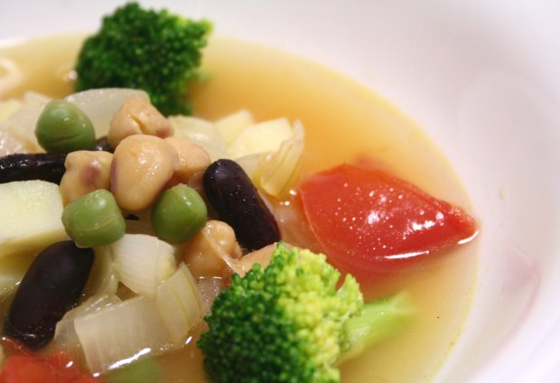 3種のビーンズスープ2