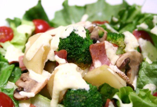 温野菜シーザーサラダ
