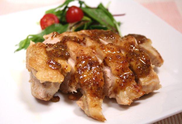 チキンのハニーマスタードソース1
