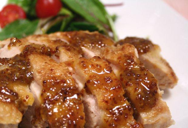 チキンのハニーマスタードソース2