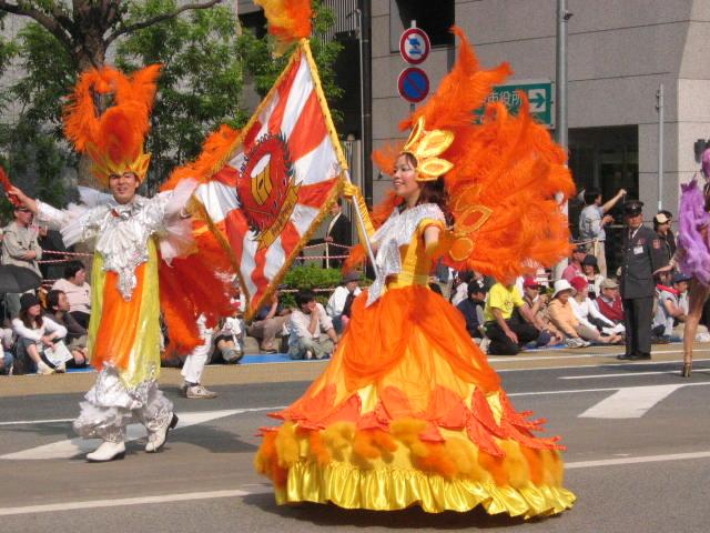 神戸祭りパーレード