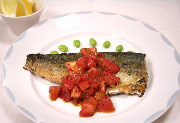 イタリアンな鯖のムニエル