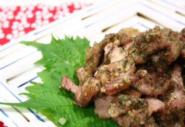 豚肉の香り磯辺揚げ2