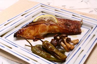 鯛の柚庵焼き