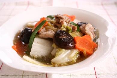 スタミナ八宝菜