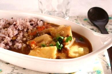 里芋とれんこんの雑穀カレー