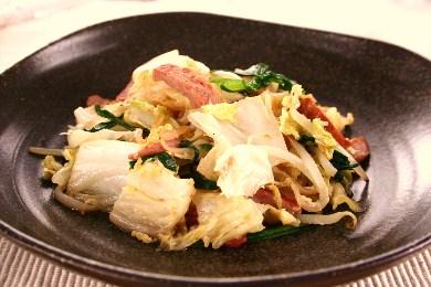 白菜チャンプルー1
