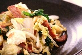 白菜チャンプルー2