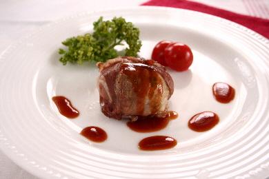 ポテトフィリングの豚肉ボール