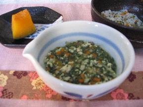 野菜と鶏そぼろの五目煮