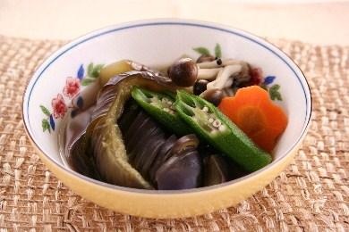 夏野菜の煮浸し