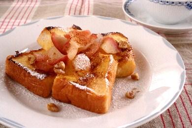 アップルシナモン フレンチトースト