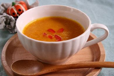20121030かぼちゃとパプリカのスープ.JPG